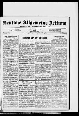 Deutsche allgemeine Zeitung vom 17.04.1919