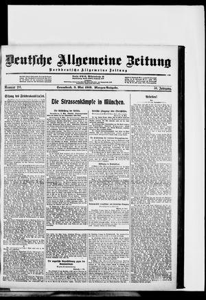 Deutsche allgemeine Zeitung vom 03.05.1919