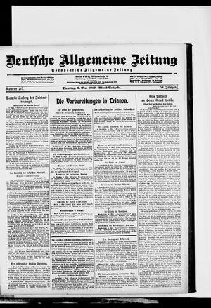 Deutsche allgemeine Zeitung vom 06.05.1919