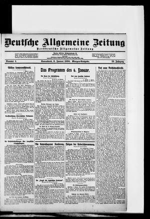 Deutsche allgemeine Zeitung vom 03.01.1920
