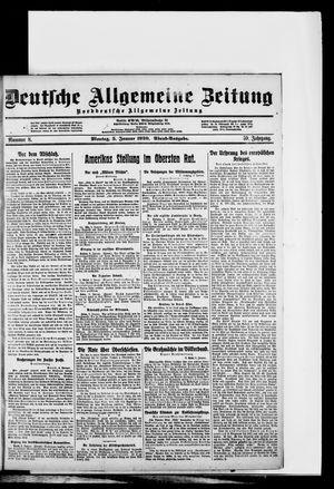 Deutsche allgemeine Zeitung vom 05.01.1920
