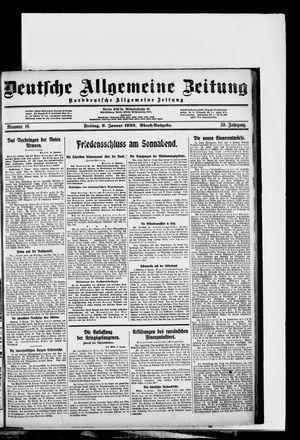 Deutsche allgemeine Zeitung on Jan 9, 1920