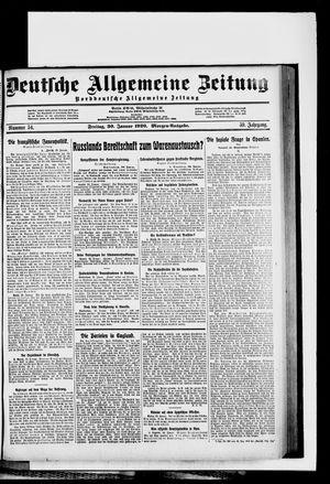 Deutsche allgemeine Zeitung vom 30.01.1920