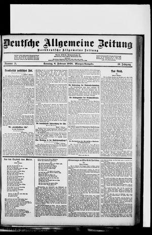Deutsche allgemeine Zeitung vom 08.02.1920