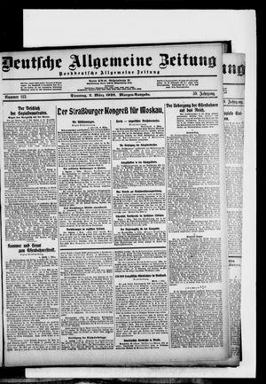Deutsche allgemeine Zeitung vom 02.03.1920