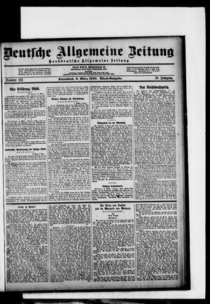 Deutsche allgemeine Zeitung vom 06.03.1920
