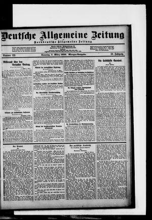 Deutsche allgemeine Zeitung vom 07.03.1920