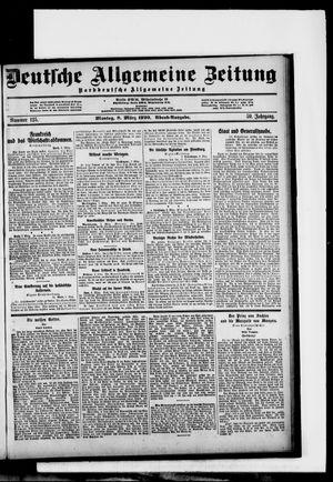 Deutsche allgemeine Zeitung vom 08.03.1920