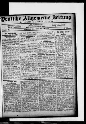 Deutsche allgemeine Zeitung vom 09.03.1920