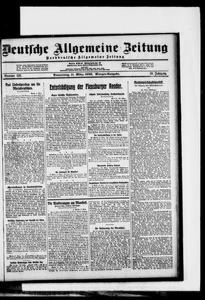Deutsche allgemeine Zeitung vom 11.03.1920