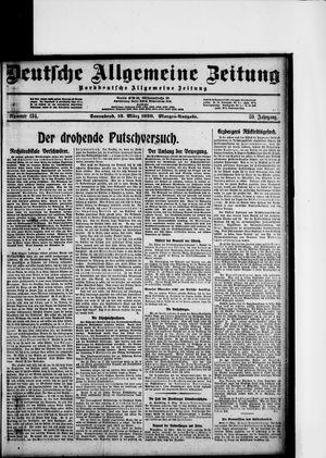 Deutsche allgemeine Zeitung vom 13.03.1920