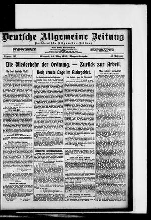 Deutsche allgemeine Zeitung vom 24.03.1920