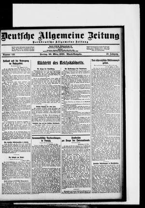 Deutsche allgemeine Zeitung vom 26.03.1920