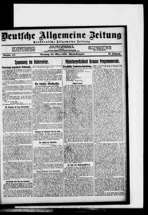 Deutsche allgemeine Zeitung vom 30.03.1920