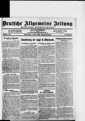 Deutsche allgemeine Zeitung vom 01.04.1920