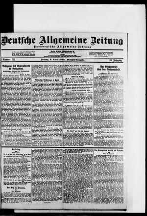 Deutsche allgemeine Zeitung vom 02.04.1920