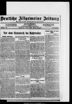 Deutsche allgemeine Zeitung vom 03.04.1920