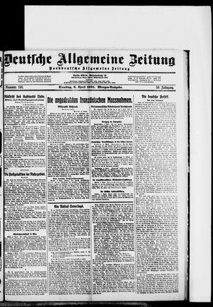 Deutsche allgemeine Zeitung vom 06.04.1920