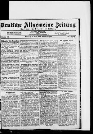 Deutsche allgemeine Zeitung vom 07.04.1920
