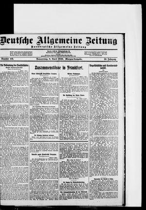 Deutsche allgemeine Zeitung vom 08.04.1920