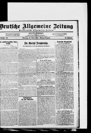 Deutsche allgemeine Zeitung vom 13.04.1920