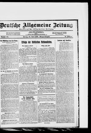 Deutsche allgemeine Zeitung vom 23.04.1920