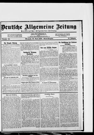 Deutsche allgemeine Zeitung vom 28.04.1920