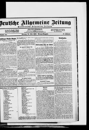 Deutsche allgemeine Zeitung vom 23.05.1920