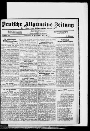 Deutsche allgemeine Zeitung vom 03.06.1920