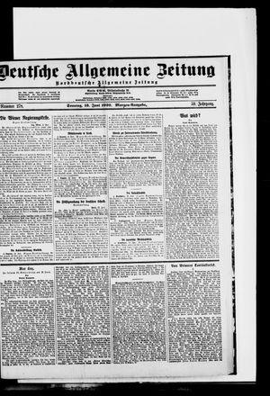 Deutsche allgemeine Zeitung vom 13.06.1920