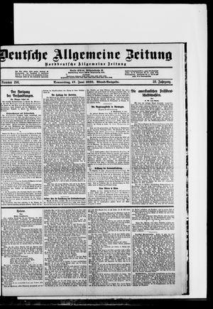 Deutsche allgemeine Zeitung vom 17.06.1920