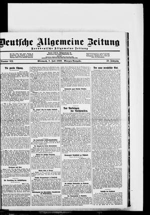 Deutsche allgemeine Zeitung vom 07.07.1920