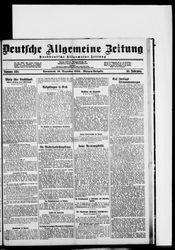Deutsche allgemeine Zeitung (18.12.1920)
