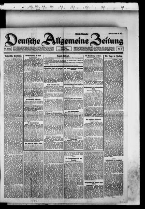 Deutsche allgemeine Zeitung vom 04.01.1921