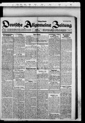 Deutsche allgemeine Zeitung vom 07.01.1921