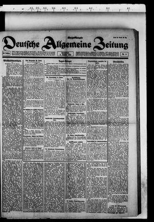Deutsche allgemeine Zeitung vom 08.01.1921