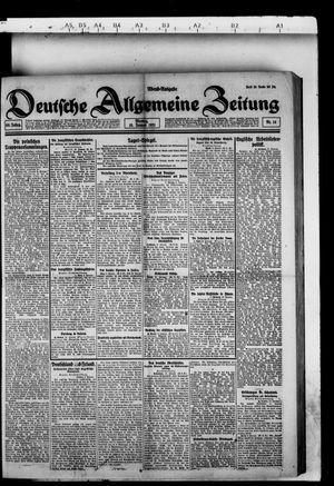 Deutsche allgemeine Zeitung vom 10.01.1921