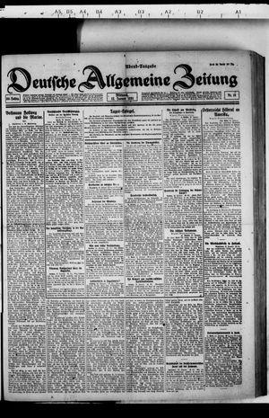 Deutsche allgemeine Zeitung vom 12.01.1921
