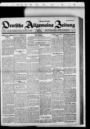 Deutsche allgemeine Zeitung vom 13.01.1921