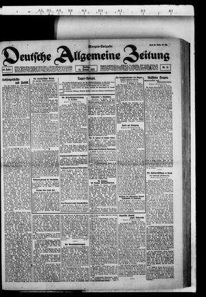 Deutsche allgemeine Zeitung vom 14.01.1921