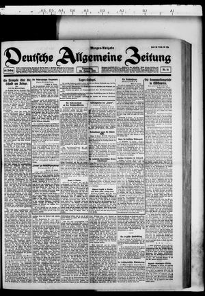 Deutsche allgemeine Zeitung vom 20.01.1921