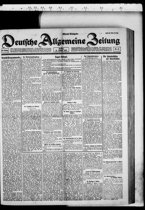Deutsche allgemeine Zeitung vom 21.01.1921