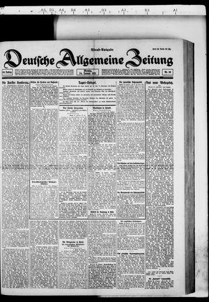 Deutsche allgemeine Zeitung vom 24.01.1921