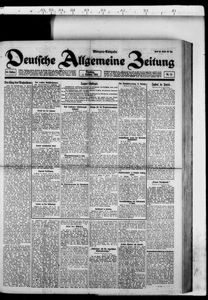 Deutsche allgemeine Zeitung vom 01.02.1921