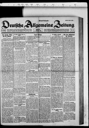 Deutsche allgemeine Zeitung vom 02.02.1921