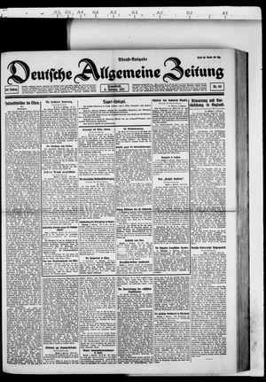 Deutsche allgemeine Zeitung vom 05.02.1921