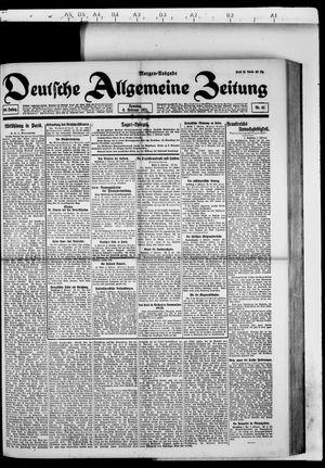 Deutsche allgemeine Zeitung vom 06.02.1921