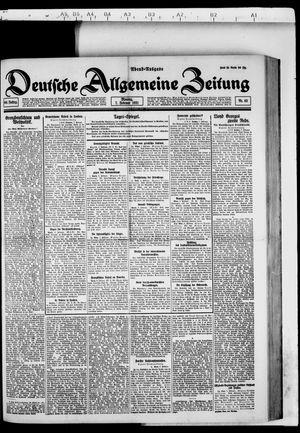 Deutsche allgemeine Zeitung vom 07.02.1921