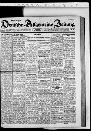 Deutsche allgemeine Zeitung vom 10.02.1921