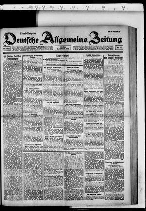 Deutsche allgemeine Zeitung vom 11.02.1921